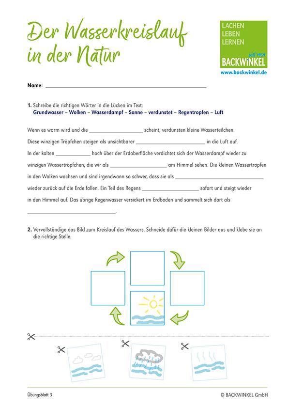 BACKWINKEL-Wasserkreislauf-Übungsblatt-3