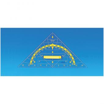 Geodreieck Hypotenuse 60 cm mit Magnetplatten