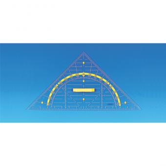 Geodreieck Hypotenuse 80 cm ohne Magnetplatten