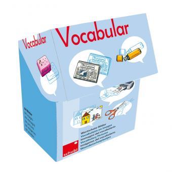 Vocabular Wortschatzbilder-Box: Schule, Medien, Kommunikation