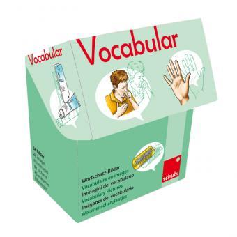 Vocabular Wortschatzbilder-Box: Körper, Körperpflege, Gesundheit