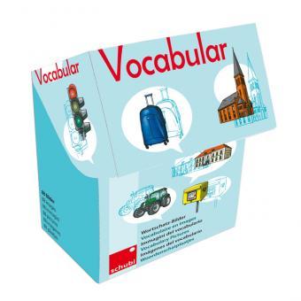 Vocabular Wortschatzbilder-Box: Fahrzeuge, Verkehr, Gebäude