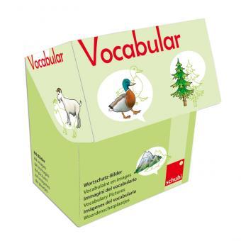 Vocabular Wortschatzbilder-Box: Tiere, Pflanzen, Natur