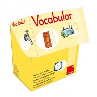 Vocabular Wortschatzbilder-Box: Haus und Garten