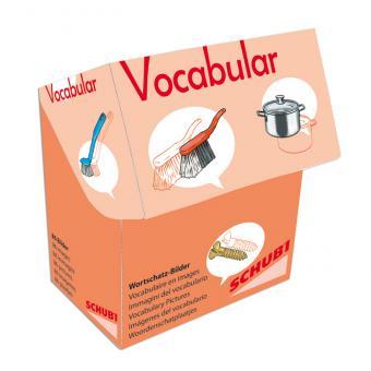 Vocabular Wortschatzbilder-Box: Haus und Werkzeug
