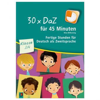 30x DaZ für 45 Minuten Klasse 3/4
