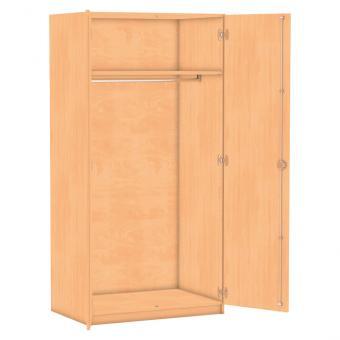 Flexeo® Garderobenschränke mit einem Fachboden