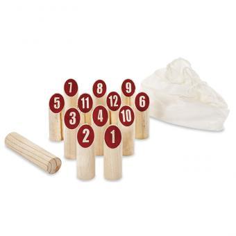 Zahlen-Wurfholzspiel