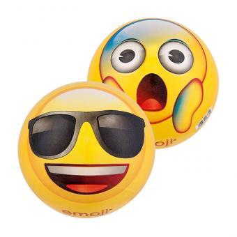 Emoji-Kunststoffball cool/erschrocken