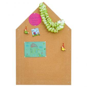 Haus-Wände zum Erinnern, Anheften und Aufbewahren Pinnwand Haus