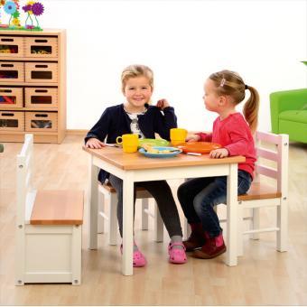 Kinder Spiel- und Sitzgarnitur Hannah