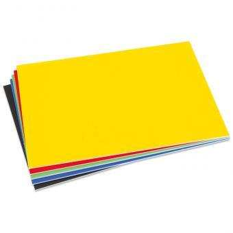 Farbige Polystyrolplatten Gelb