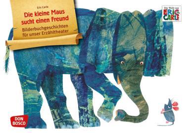 Kamishibai-Bildkarten, Die kleine Maus sucht einen Freund