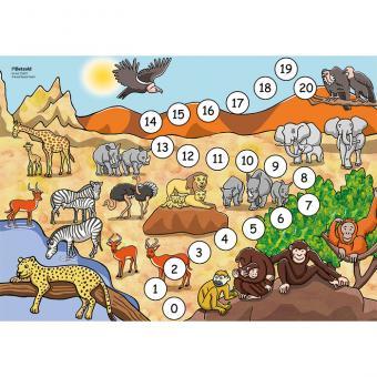 Rechenspiel auf Safari