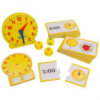Aktivitäts-Set Uhrzeiten