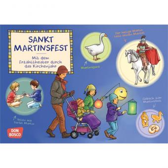 Kamishibai-Bildkarten, Sankt Martinsfest