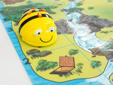 BeeBot Schatzinsel-Spielfeld
