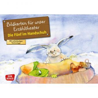 Kamishibai-Bildkarten, Die Fünf im Handschuh