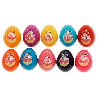Stempel-Eier im 10er-Set