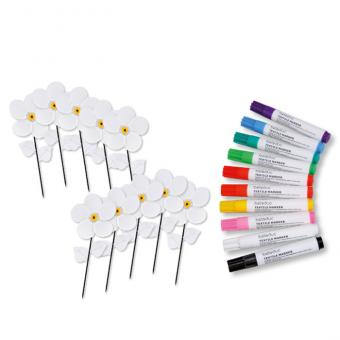 Spar-Set Windrad-Blumen