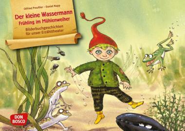 Kamishibai-Bildkarten, Der kleine Wassermann - Frühling im Mühlenweiher