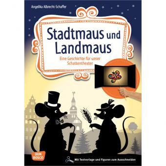 Schattentheater-Set Stadtmaus und Landmaus
