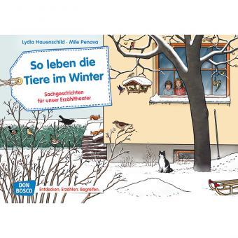 Kamishibai-Bildkarten, So leben die Tiere im Winter