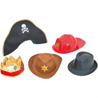 Rollenspiel-Hüte-Sets Set für Jungen