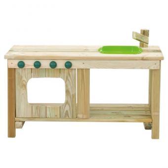 Outdoor Krippenküche grüne Spüle