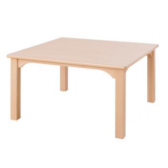 Quadrat-Holztisch Höhe: 46 cm