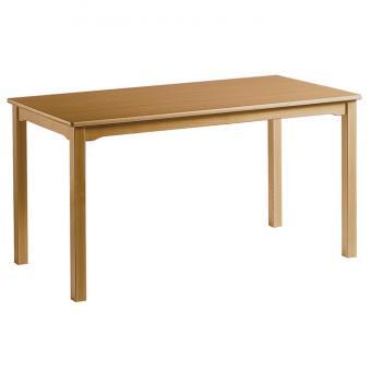 Rechteck-Holztisch, 120x60 cm