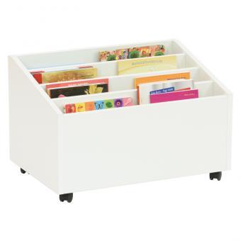 Bücherbox Finn Weiß