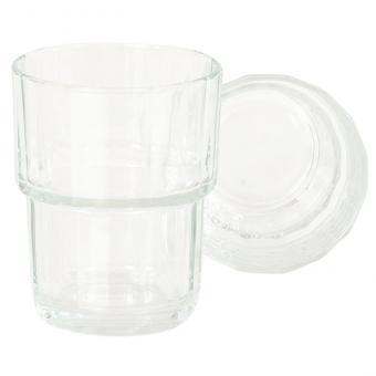6 Gläser, groß