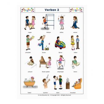 Bildkarten Verben 2