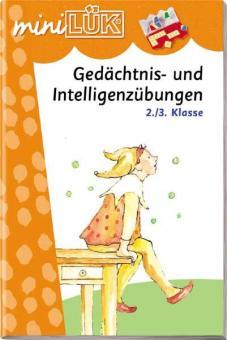 miniLÜK: Gedächtnis- und Intelligenzübungen 2./3. Klasse
