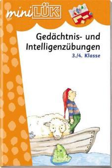 miniLÜK: Gedächtnis- und Intelligenzübungen 3./4. Klasse