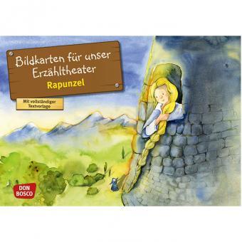 Kamishibai-Bildkarten, Rapunzel