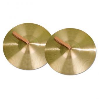 Cymbel-Paare aus Messing - Ø 15 cm