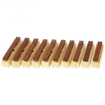 Sopran-Klangbausteine 10er-Set, Holz