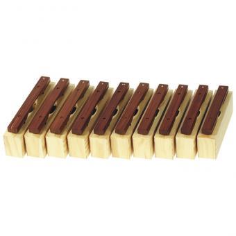 Alt-Klangbausteine Holz, 10er Set