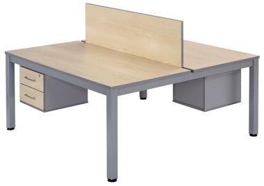 Getrennter Doppeltisch