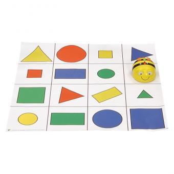 Bee-Bot Geometrie-Spielfeld