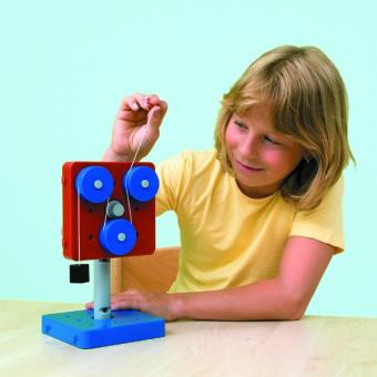 Einfache Maschinen, Satz mit 5 Modellen