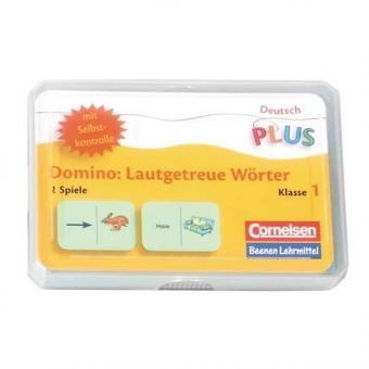Lese-Dominos Lautgetreue Wörter