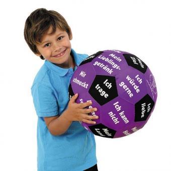 "Lern-Spielball ""Kennenlernen"""