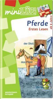 miniLÜK: Pferde - Erstes Lesen