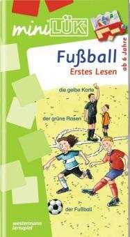 miniLÜK: Fußball - Erstes Lesen