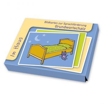 Sprachförderung mit Bildkarten Im Haus