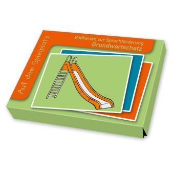 Sprachförderung mit Bildkarten Auf dem Spielplatz