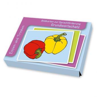 Sprachförderung mit Bildkarten Essen und Trinken